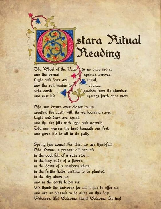 Ostara Ritual Reading – Witches Of The Craft®