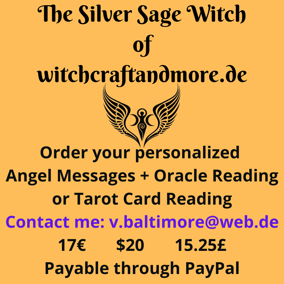 Order your personalized Angel Reading with me_ 17€ $20 15.25£